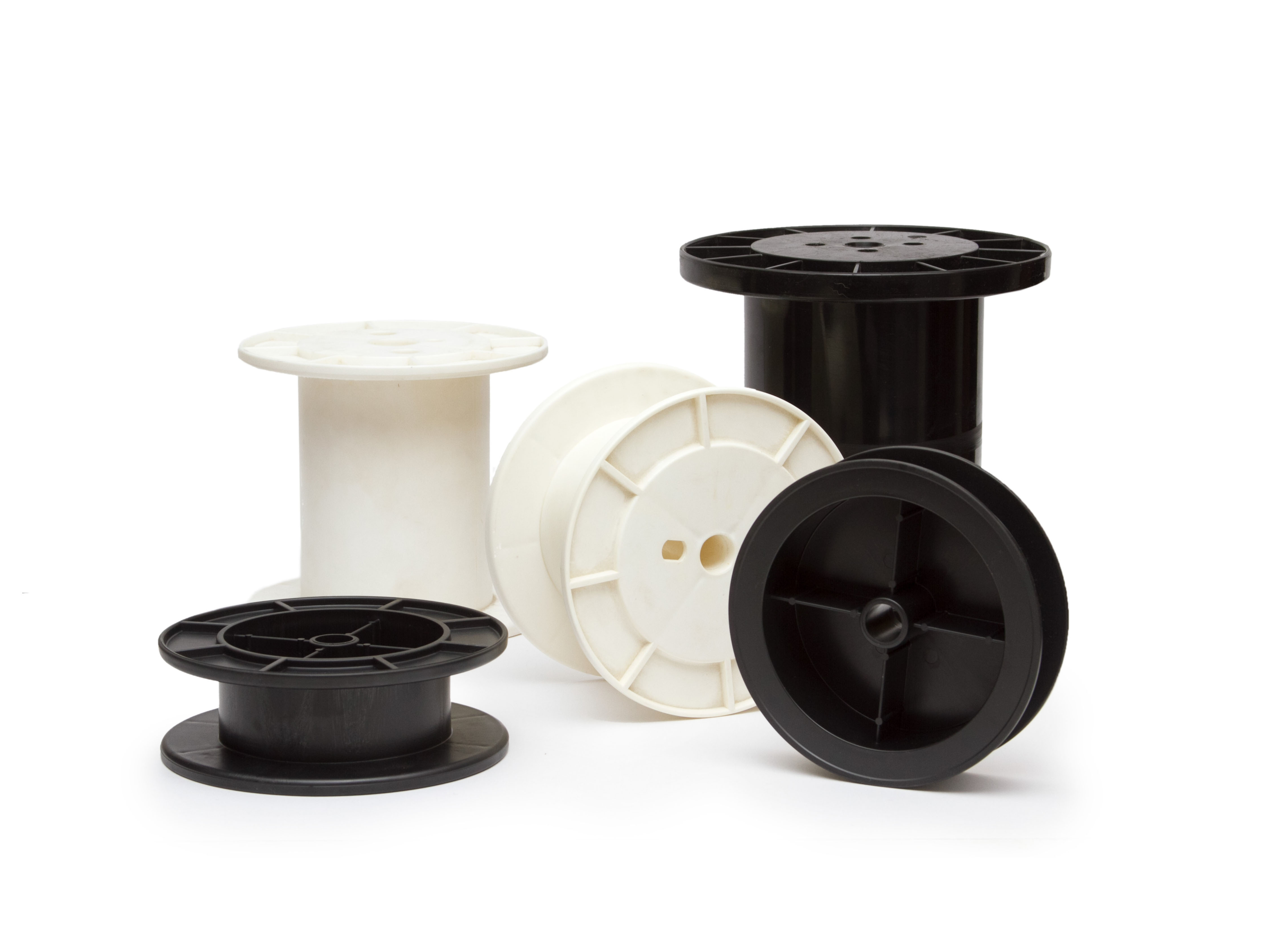Injection Molded Plastic Spools and Reels   Nortic Inc.