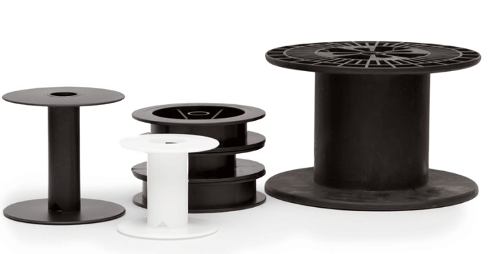 injection molded plastic spools and reels nortic inc